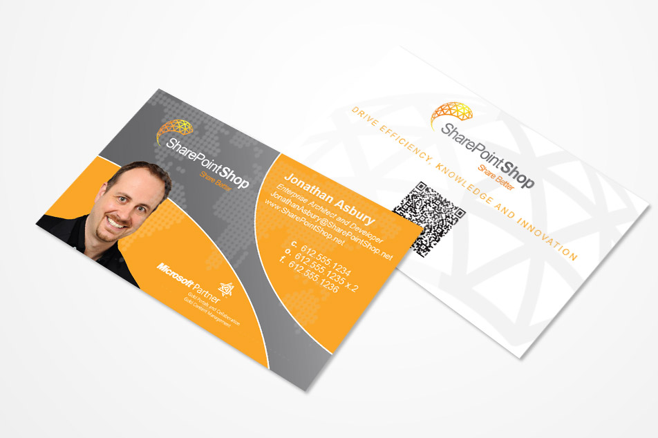 SharePoint Shop Business Cards