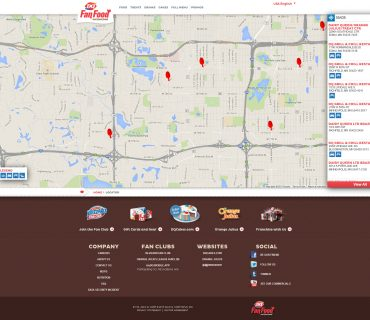 Dairy Queen Store Locator - Screenshot