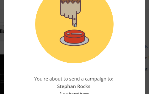 MailChimp Encouragement